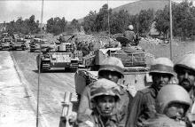 חיילים עולים לגזרה הצפונית