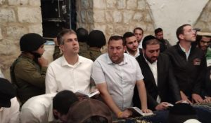 צילום: גילעד הדרי ישראל ניוז מנהלת קבר יוסף