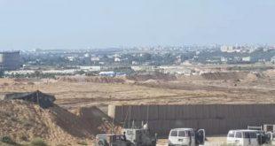 גבול ישראל - עזה בשנת 1971