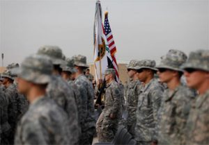 חיילים אמריקנים בבגדד.  צילום | AP