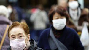 הוירוס הגיע גם לטוקיו. צילום | AP