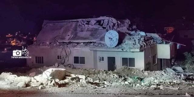"""צה""""ל הרס הלילה את ביתו של המחבל שרצח את רינה שנרב"""