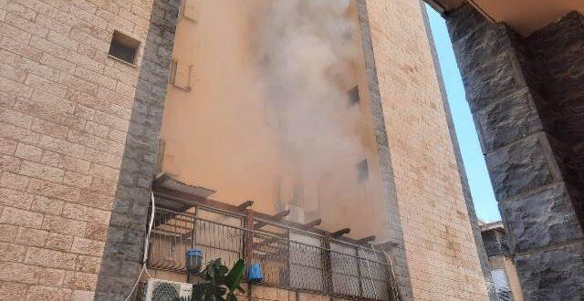 איחוד הצלה טבריה וסובב כינרת סייעו לדיירים שבביתם פרצה שריפה