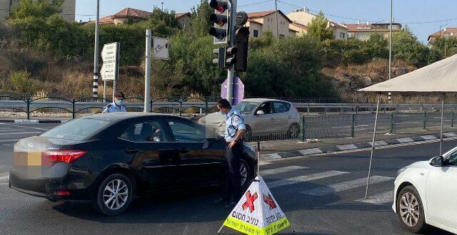 מרדף משטרתי אחרי נהג רכב שיצא אחרי הסגר ופרץ את המחסום